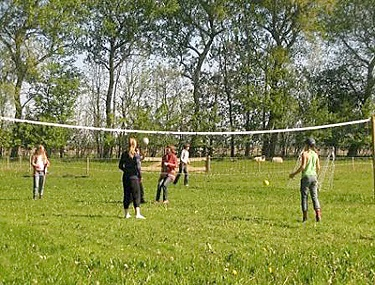 Volleybalveldje